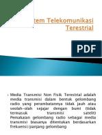 Sistem Telekomunikasi Terestrial