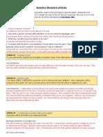 chloe garcia - genetics research articles