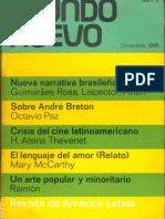 Mundo Nuevo 6 (nueva narrativa brasileña)