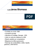 CALDERAS de BIOMASA - Biomass Boiler Presentation 3