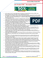 Current Affairs Pocket PDF - December 2017 by AffairsCloud