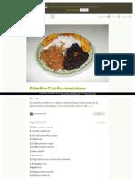 Https Cookpad Com Es Recetas 134504 Pabellon Criollo Venezolano