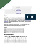 Filettature Tiranti ASTM-A193