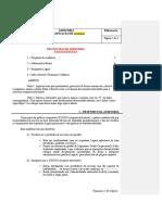 Texto 5 - Modelo de Protocolo de Auditoria
