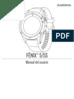 Fenix5S OM ES