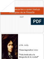 Carta de Descartes a Quien Tradujo Principios De