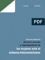Guia Para Proteger Los Derechos Sexuales Ante El Sistema Interamericano