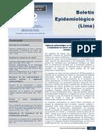 Boletin epidemiológico