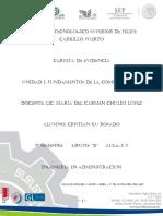 Unidad 1 Fundamentos de La Comunicasión Cristian Ku.