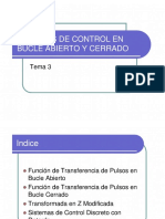 3. Sistemas de Control en Bucle Abierto y Cerrado