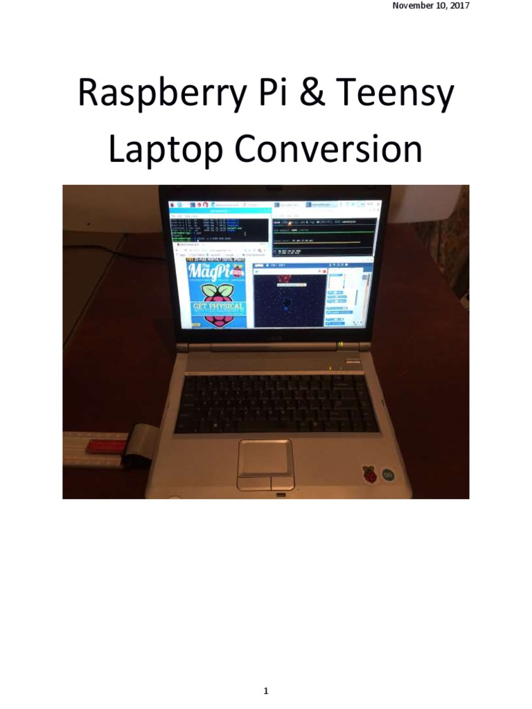 Laptop Conversion to Raspberry Pi | Power Supply | Laptop