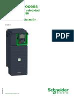 Manual de Instalación Variador de Frecuencia ATV600
