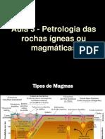 Aula 03 - APP - Rochas Igneas