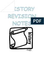 History Revision Notes 2