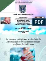 Ciencias de La Salud Muestras Biologicas