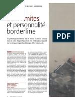 Etats limites et personnalité borderline