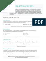 Designlab Branding Course Syllabus