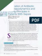 Journal Application of Antibiotic
