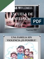 Escuela de Familias - Violencia