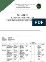 1. Silabus Teknik Geologi Pertambangan SMK Ma'Arif (New)