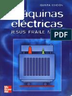 Libro Máquinas Eléctricas - Jesus Fraile Mora [EASY ENGINEERING]