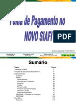 Folha Novo SIAFI