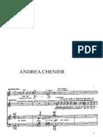 Improvvisso Andrea Chenier