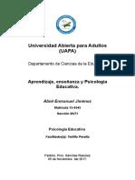 1ra Tarea Psicologia Educativa