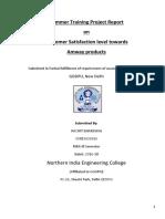 Amway Projject Final