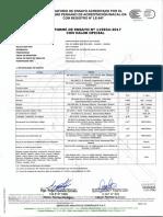 Informe de Ensayo - Analisis Quimico Del Agua