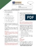 Trabajo 06 (Razones de Cambio y Optimización)