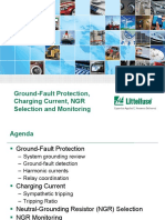 Littelfuse Ground Fault Protection Charging Current NGR Selection Monitoring