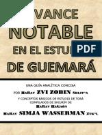 Avance Notable en El Estudio de Guemara 5776