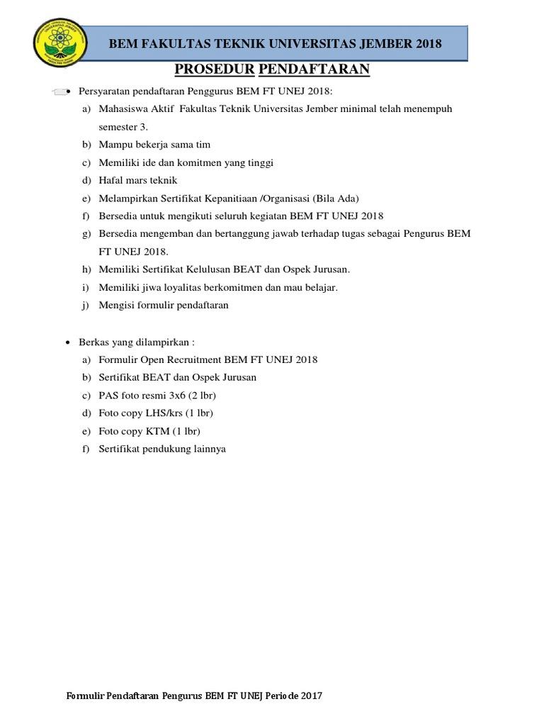 Pendaftaran 1 Pdf