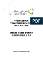 UTT Smart Home Guidelines V7.0 Dec 2010
