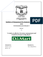 Inventory Management Report