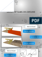 Design of Slabs on Ground