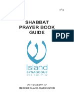 Shabbat Prayer Book Guide Final