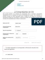 Constatación de Comprobantes _ AFIP