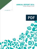 Unilever Pakistan Limited Annual Report 2016 Tcm1267 501352 En