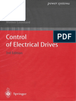 Leonhard - Control of Electrical Drives