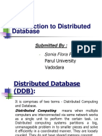 introduction to distributed database