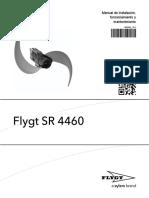 motor - areadores flygt