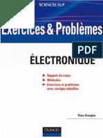 Granjon, Yves-Exercices Et Proble_mes D_e_lectronique _ Avec Rappels de Cours Et Me_thodes-Dunod (2010)