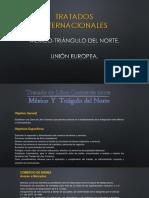 Tratado Triangulo Del Norte y Union Europea