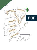 Mapa Mudo Relieve de España