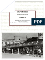 GRUPO MODELO Investigacion Documental 1