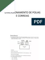 DIMENSIONAMENTO DE POLIAS E CORREIAS.pdf