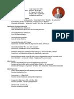 Curriculum Vitae Sergio Daniel Picco Ortiz área Empresarial Asunción Paraguay