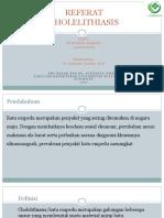 Referat cholelithiasis